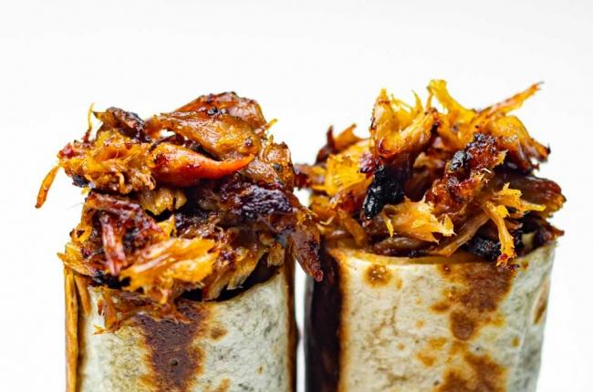burrito-pulled pork
